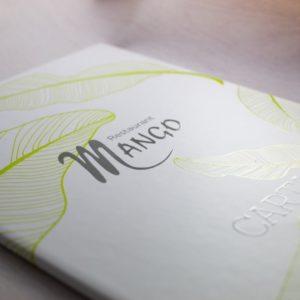 Impresión de Cartas de Menú